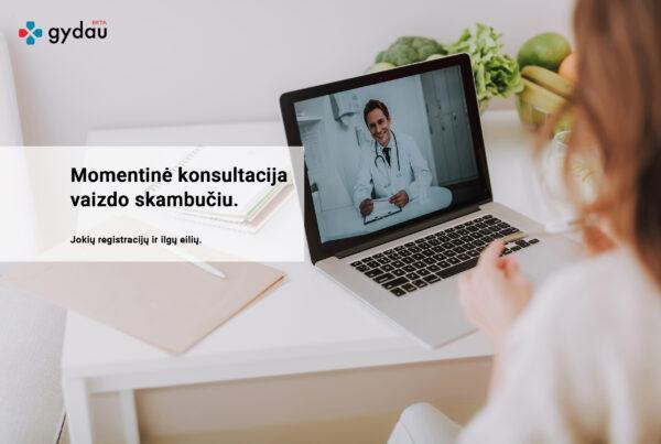 Momentinių vaizdo konsultacijų teikimo programinė įranga