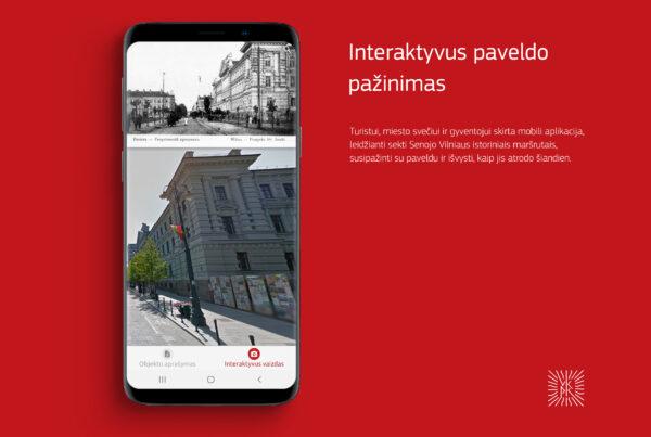 Mobili programėlė maršrutų planavimui ir lankytinų objektų apžiūrai