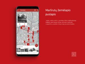lankytinu objektu mobili aplikacija